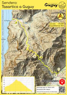 Mapas de Senderos en Canarias