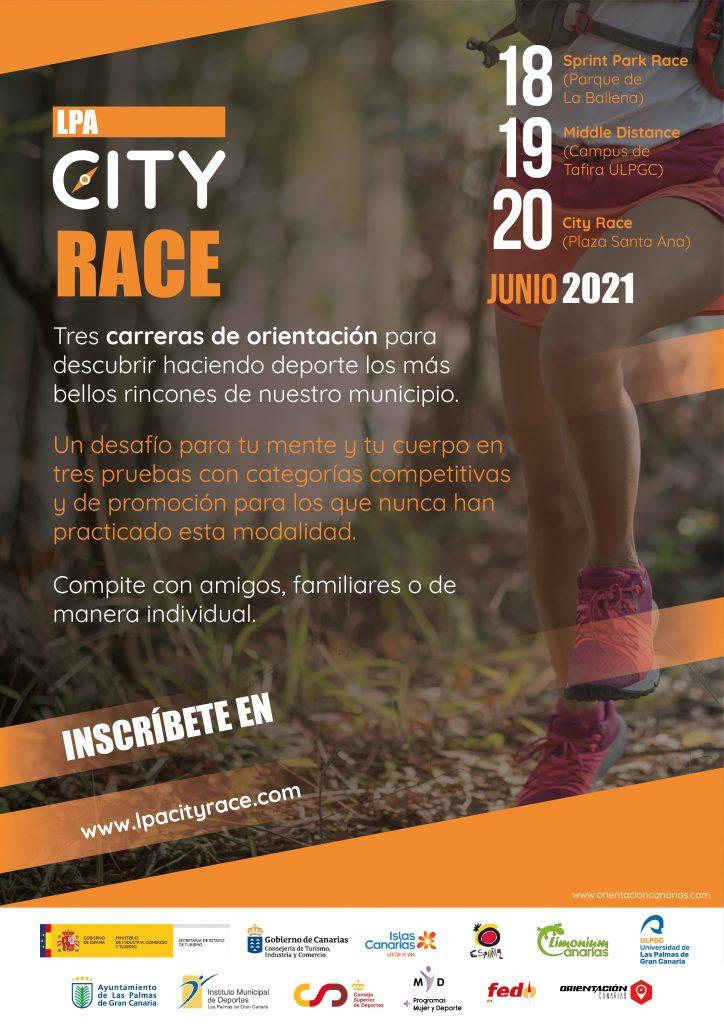 LPA City Race - Orientacion Canarias