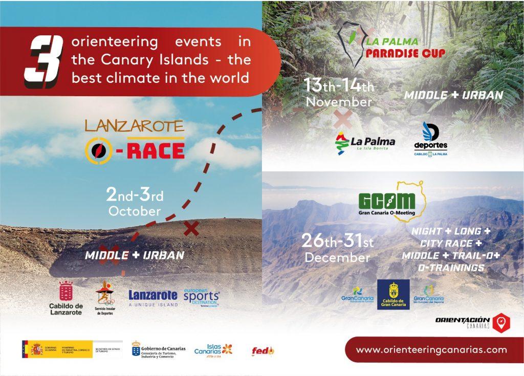 Orienteering events in Canary Island by Orientacion Canarias