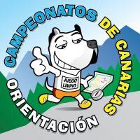 Logo Campeonatos de orientación CANARIAS escolar